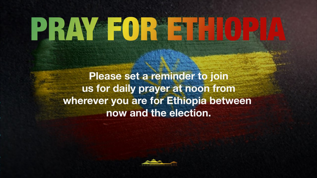 Pray For Ethiopia